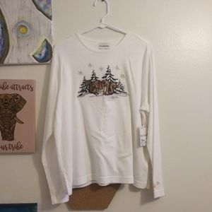 💥NWT two cute squirrels christmas sweater